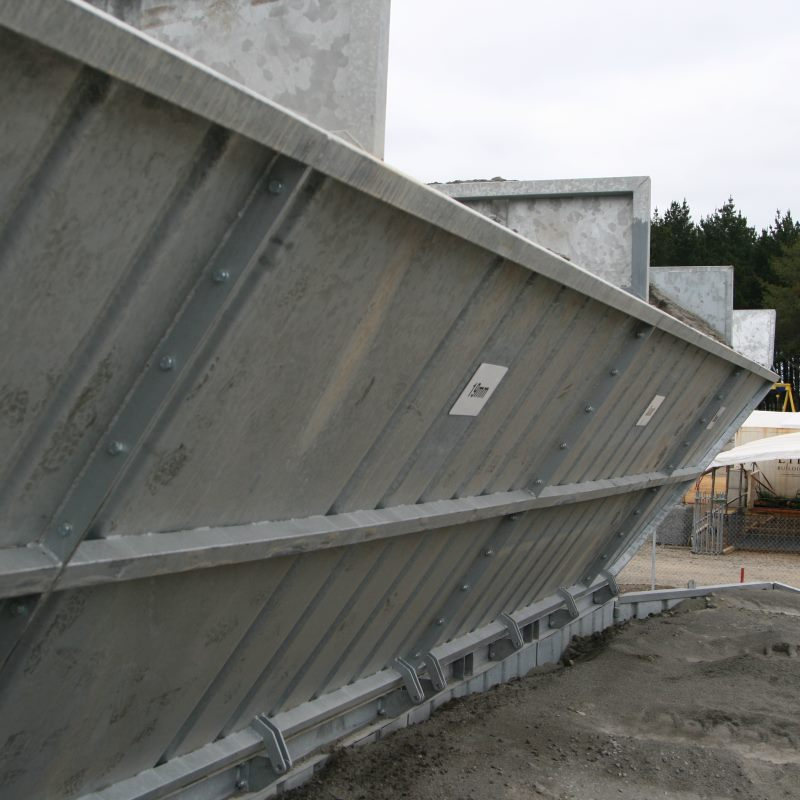 preparing aggregate for concrete mixing
